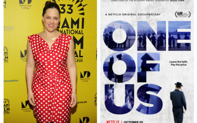 Director Heidi Ewing (left) and her film 'One Of Us'