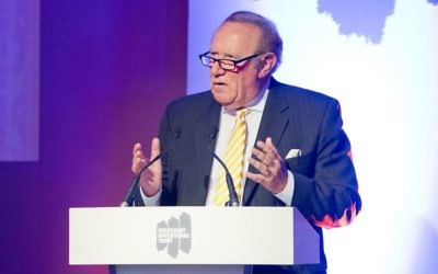 Andrew Neil at the Holocaust Educational Trust's dinner