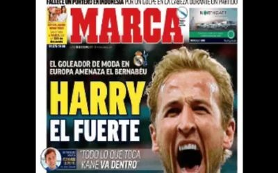 Spanish newspaper Marca wrote a controversial piece ahead of Tuesday night's Champions League match between Real Madrid and Tottenham