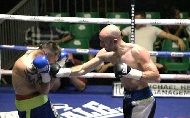 Tony Milch has  won his previous 13 professional fights. Picture: Andy Clugston