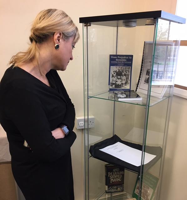 Board of Deputies Vice President Marie van der Zyl at Leeds GATE Heritage Centre