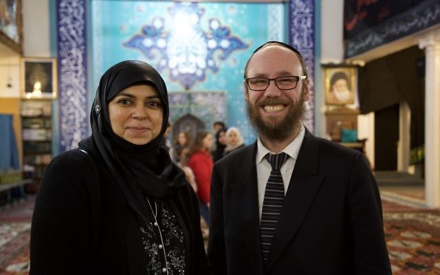 Aliya Azam MBE, Education and Interfaith Coordinator at Al Khoei Foundation and Rabbi Baruch Levine