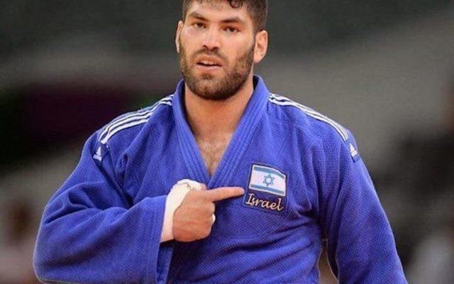 Israeli Judo star Ori Sasson