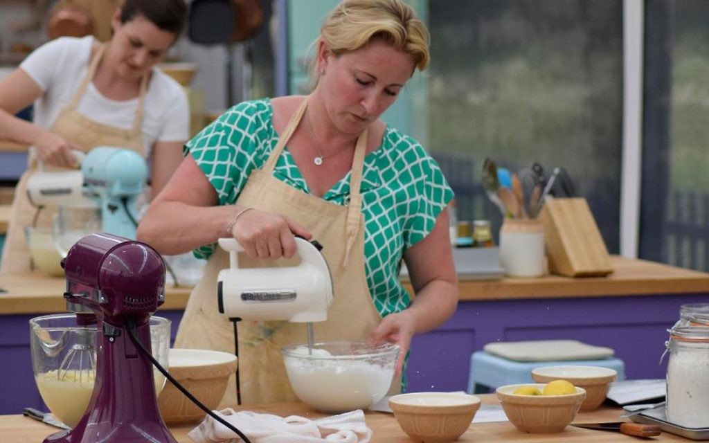 Choux business! Stacey Hart whips up a frenzy in the marquee for Patisserie week