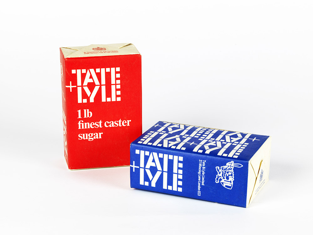 German-born designer FHK Henrion and his designs for Tate & Lyle