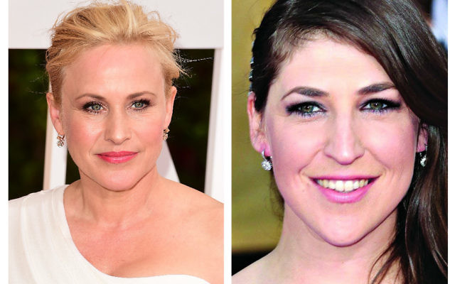 Patricia Arquette (left) and Mayim Bialik (right)