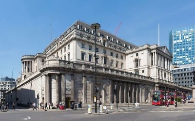 Bank of England headquarters in central London