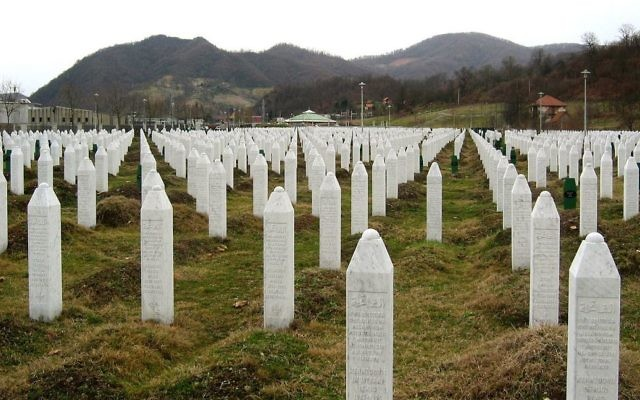 The Srebrenica Genocide Memorial in Potočari