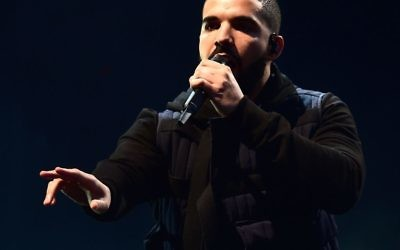 Rapper Drake, who stopped a performance in the middle of a track to come to the defence of his female fans who, he said, were being groped in the crowd.   Photo credit: Ian West/PA Wire