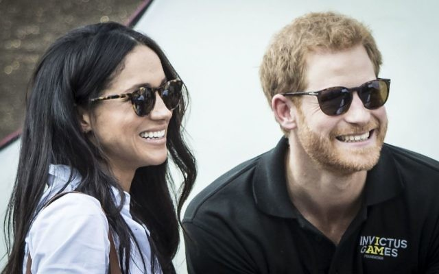 Prince Harry and Meghan Markle   Photo credit: Danny Lawson/PA Wire