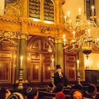 A ceremony at the Spanish and Portuguese Jews Congregation, at Bevis Marks Synagogue, London in 2015   (C) Blake Ezra Photography 2015.