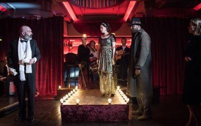 Tikva Patrons Dinner: Immersive Theatre   Picture credit: Blake Ezra Photography