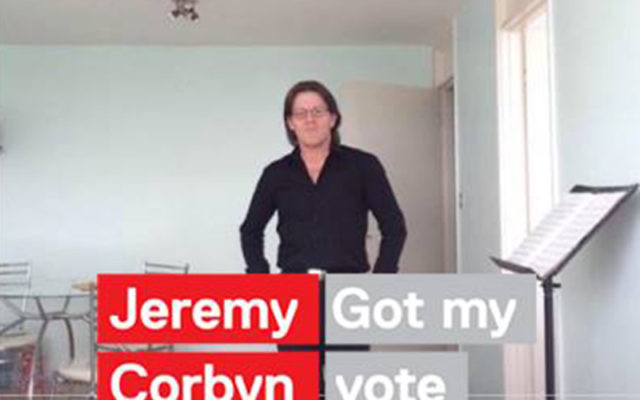 Billy J Wells' Facebook profile shows his support for Labour leader Jeremy Corbyn