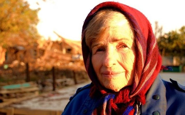 An elderly Jewish woman