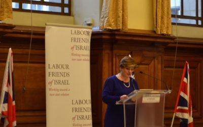 Emily Thornberry addressing LFI