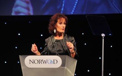 Norwood's outgoing chief Elaine Kerr