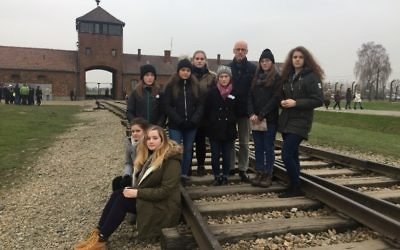 John Swinney visited the death camp with 200 Scottish students