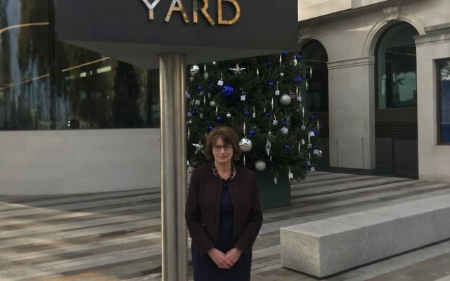 Louise Ellman a New Scotland yard, meeting with the police