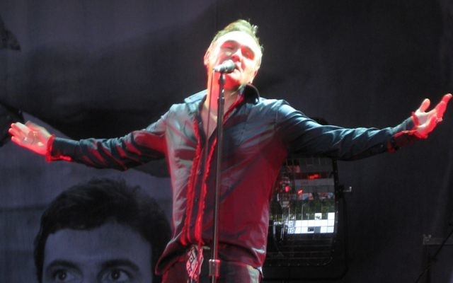 Morrissey has hit out at anti-Israel critics in his forthcoming album