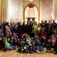 Northwood & Pinner Liberal Synagogue and Stanmore Mosque hosted a clothing collection for the homeless
