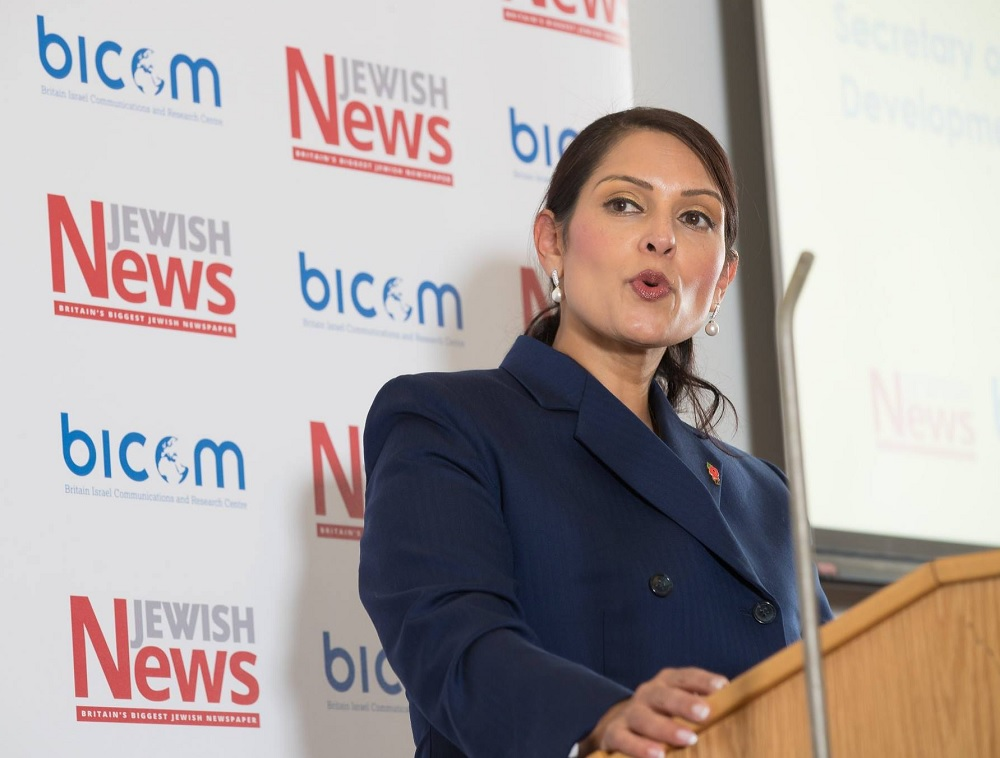 Priti Patel calls for action from social media companies following Wiley comments
