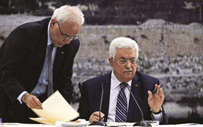 PA leader Mahmoud Abbas