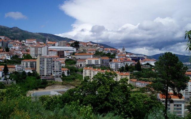 Picturesque Covilha, in Portugal