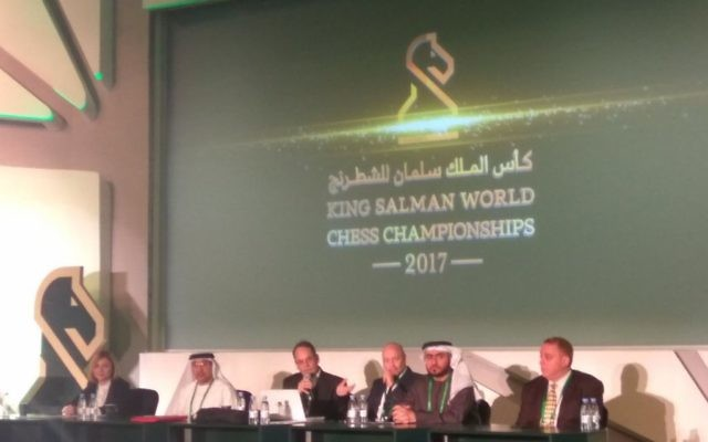 Opening of the chess championship