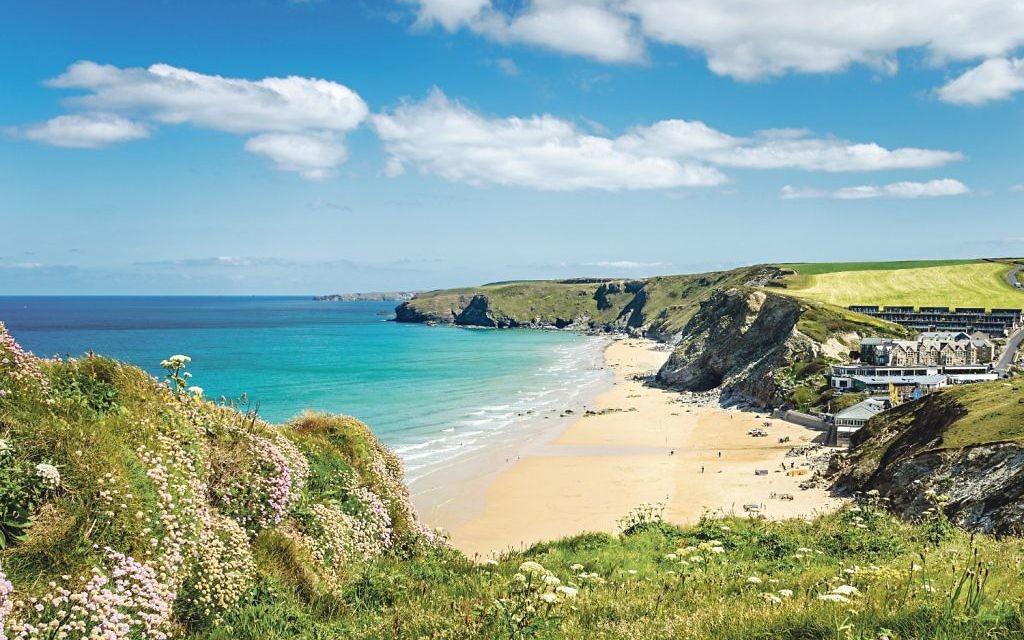 The stunning north Cornish coast