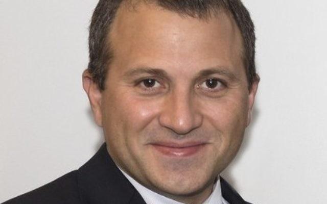 Lebanese Foreign Minister Gebran Bassil