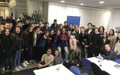 Volunteers from Noam (Masorti) at the UJIA telethon