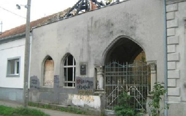 The Jewish cemetery in Pančevo. Picture: courtesy of jewishgen.org