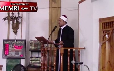 Sheikh Aymen Elkasaby  (Screen capture/Memri)