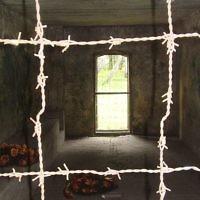 Inside Stutthof gas chamber