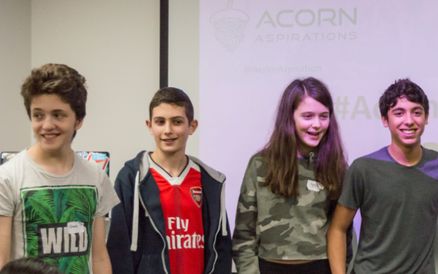 The winning team: Iftach, Jack, Izzy and Ben