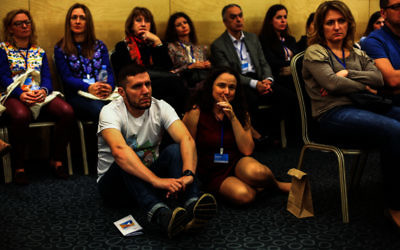 Young and old were among the 750 participants at last weekend's Limmud FSU in the city of St Petersburg