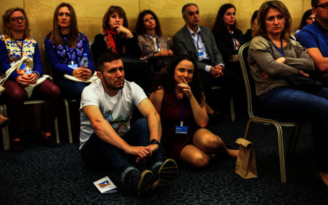 Young and old were among the 750participants at last weekend's Limmud FSU in the city of St Petersburg