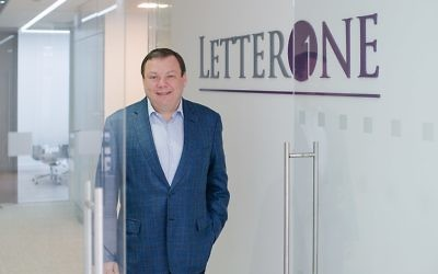 Mikhail Fridman of the Genesis Philanthropy Group,