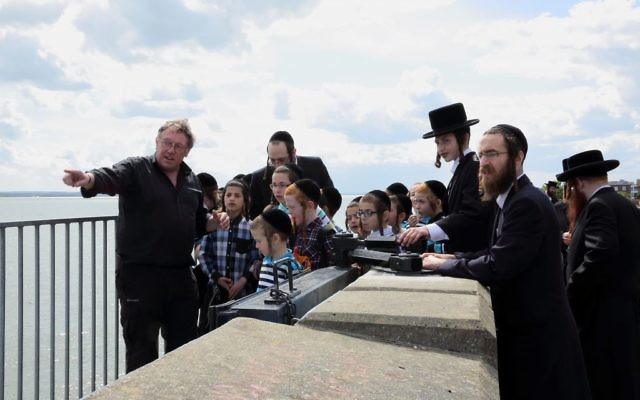 A scene from the Promised Island, the BBC documentary looking t the newly-established Charedi community of Canvey Island.   Image credit: BBC/Spring Films/Laurie Sparham