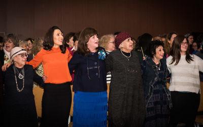 Women at the inaugural Neshama festival, held by the Chief Rabbi  Credit: Blake Ezra