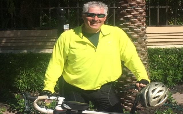 Stuart Bookatz will be taking part in a 3,000 mile cycle in April to raise awareness for mental health