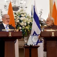 Benjamin Netanyahu and Indian counterpart Narendra Modi