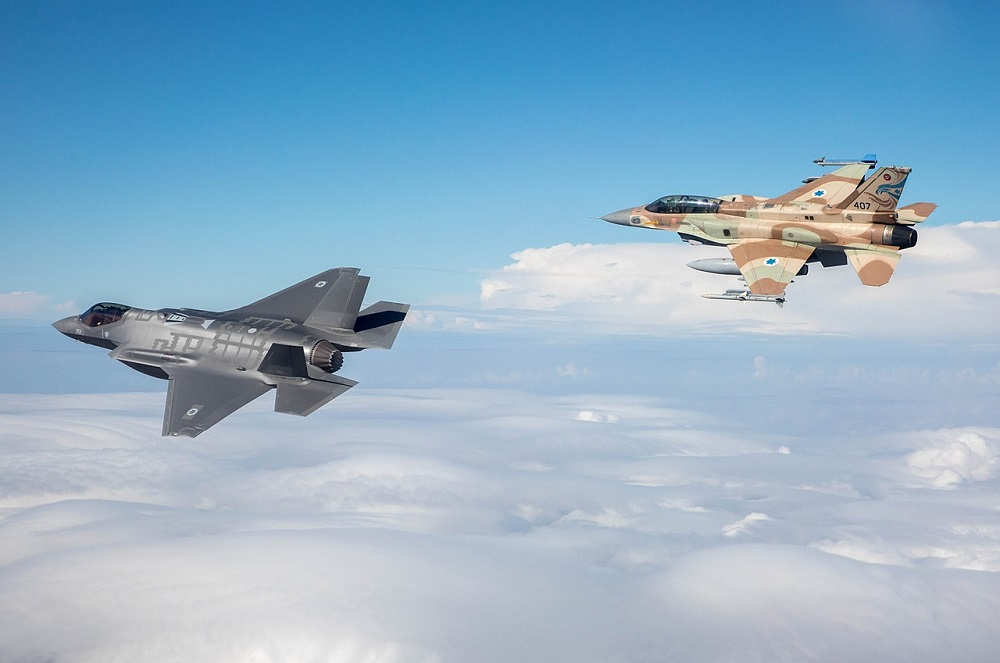 Israeli Air Force and RAF to conduct historic joint exercise