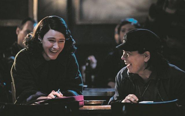 Rachel Brosnahan and Alex Borstein star in The Marvelous Mrs. Maisel