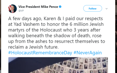 The controversial tweet sent by Mike Pence