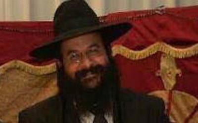 Rabbi Raziel Shevah, 35, was shot dead  Source: Twitter