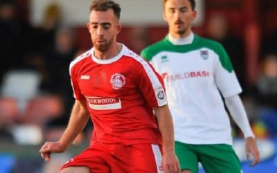 "Hemel Hempstead midfielder Scott Shulton says he was called a ""f****** Jew"" by a former teammate during his side's match on Saturday"