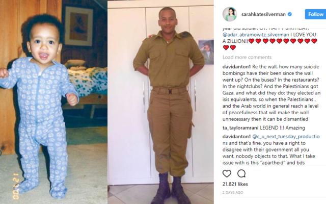 Sarah Silverman's Instagram post which led to anti-Israel abuse