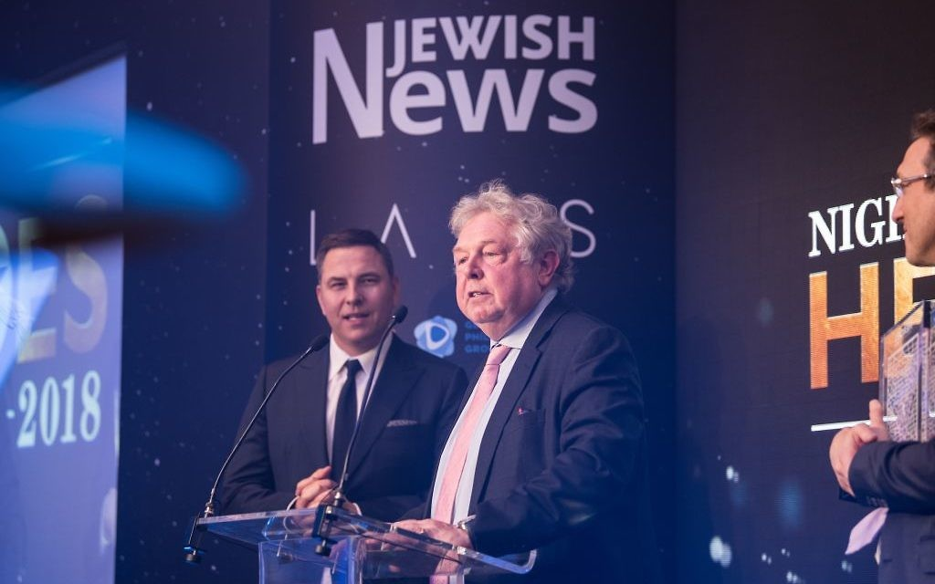 The Jewish News #NightofHeroes at The London Marriott Grosvenor Square.  (C) Blake-Ezra Photography.