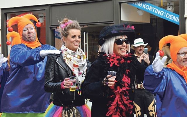 Halloween Party Breda.For Jews In The Netherlands This Catholic Carnival Feels
